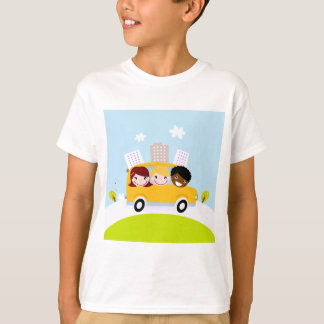 Creative t-shirts with Bus