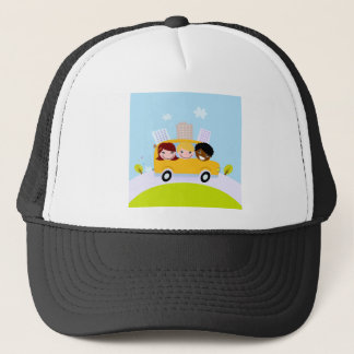 Creative t-shirts with Bus Trucker Hat