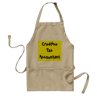 Creative Tax Accountant Funny Saying Apron