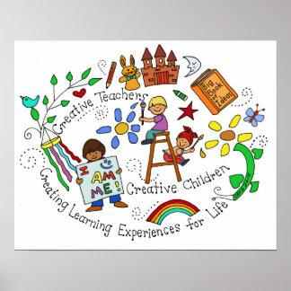 Creative Teachers, Creative Children Poster