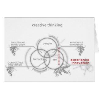 creative thinking card