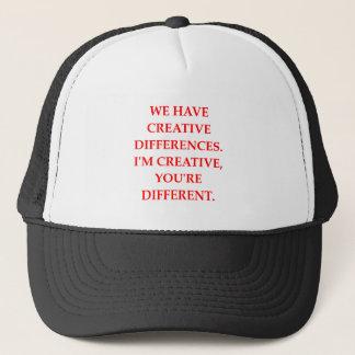 CREATIVE TRUCKER HAT