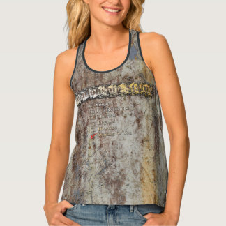 CREATIVE TYPOGRAPHY 4 TANK TOP