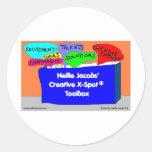 Creative X-Spot® Toolbox Classic Round Sticker