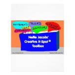 Creative X-Spot® Toolbox Letterhead Template