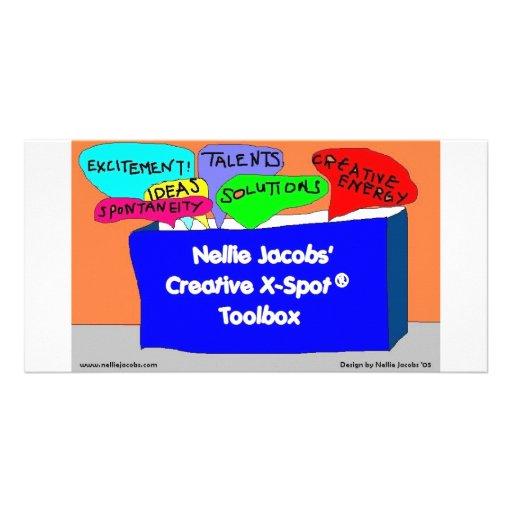 Creative X-Spot® Toolbox Photo Card