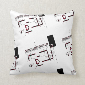 Creatively Made Throw Pillow