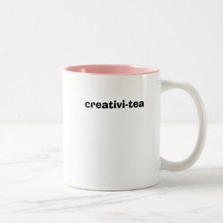 creativi-tea Two-Tone coffee mug