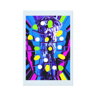 Creativity capsule canvas print
