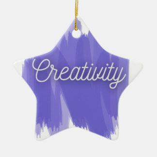 Creativity Ceramic Ornament