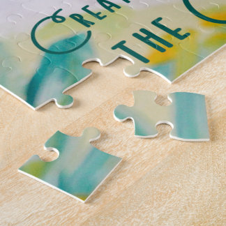 Creativity Comes From The Creator Jigsaw Puzzle