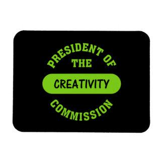 Creativity Commission President Rectangular Photo Magnet