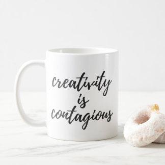 Creativity is Contagious Coffee Mug