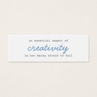 creativity mini cards script