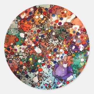 Creativity on a Cellular Level Round Sticker