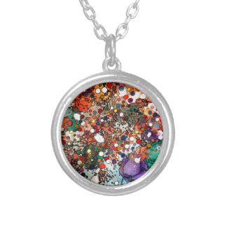 Creativity on a Cellular Level Silver Plated Necklace