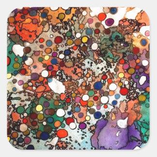 Creativity on a Cellular Level Square Sticker