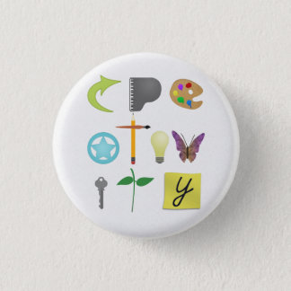 Creativity Pin-Back Buttons