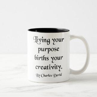 Creativity Two-Tone Coffee Mug