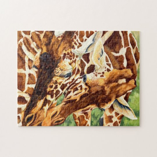 Creature Comforts - Giraffe Jigsaw Puzzle