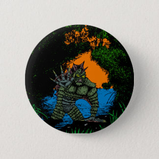 Creature From The Black Lagoon Button variant
