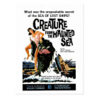 """""""Creature from the Haunted Sea"""" Postcard"""