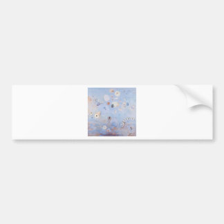 Creatures abstract imaginary bumper sticker
