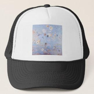 Creatures abstract imaginary trucker hat
