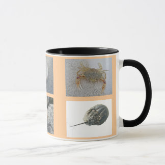 Creatures at the Beach Patches Mug