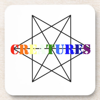 Creatures clothing! drink coasters