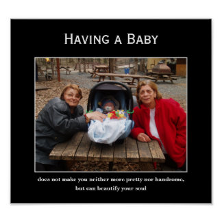 Creatures - Having a Baby Demotivational Poster