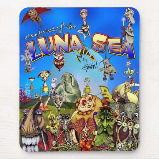 Creatures of the Luna Sea Mouse Pad