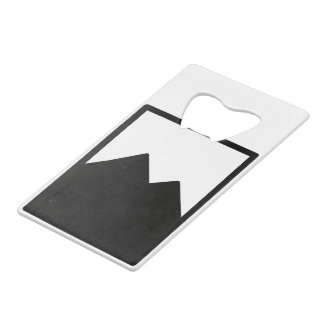 Credit Card Bottle Opener Template