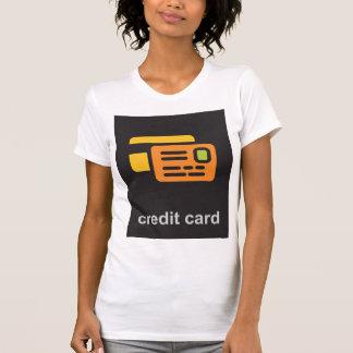 Credit Card Womens T-Shirt
