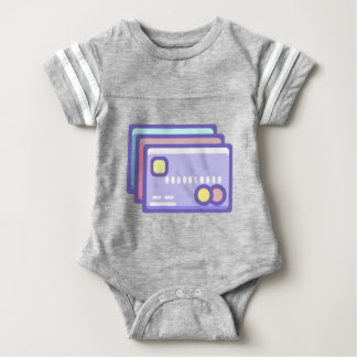 Credit Cards Baby Bodysuit