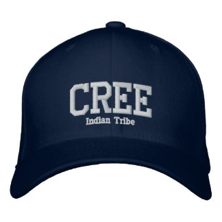 Cree Indian Tribe Embroidered Hat