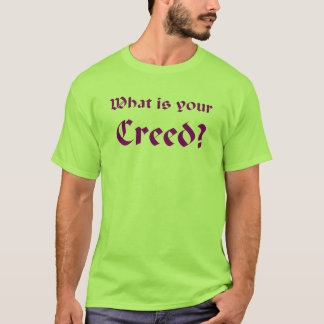 Creed (purple) T-Shirt