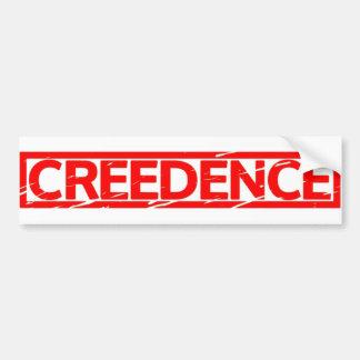 Creedence Stamp Bumper Sticker