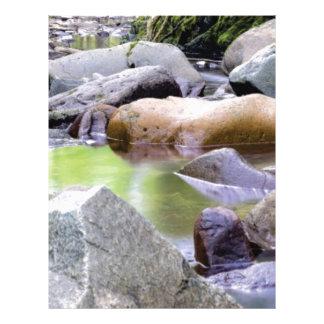 creek among stones letterhead