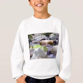 creek among stones sweatshirt