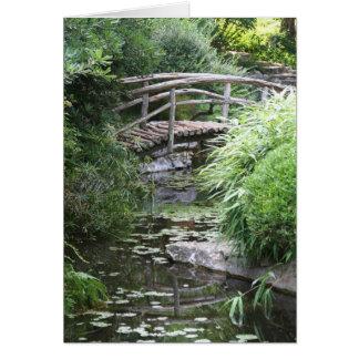 Creek Bridge Card
