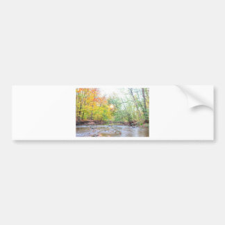 Creek - Fall Bumper Sticker