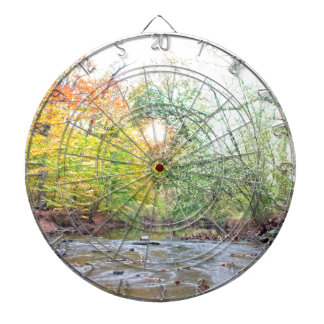 Creek - Fall Dartboard