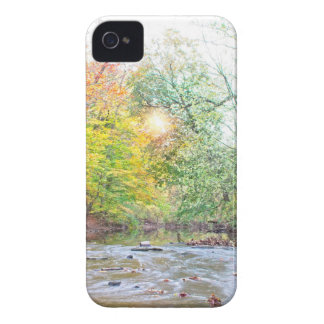 Creek - Fall iPhone 4 Cover