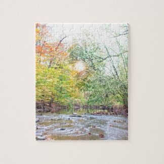 Creek - Fall Jigsaw Puzzle