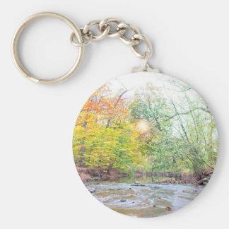 Creek - Fall Keychain