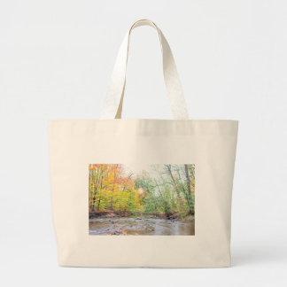 Creek - Fall Large Tote Bag