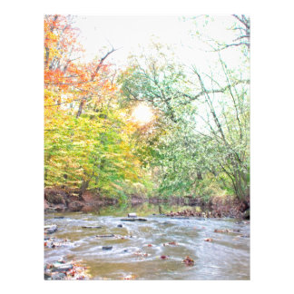 Creek - Fall Letterhead