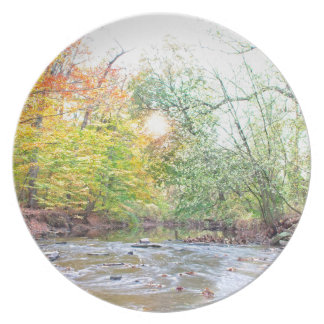Creek - Fall Plate