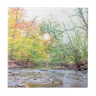 Creek - Fall Tile